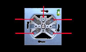 Perilex - 400 V wandcontactdoos 002